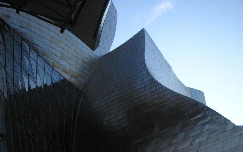Polvo en el museo Guggenheim de Bilbao